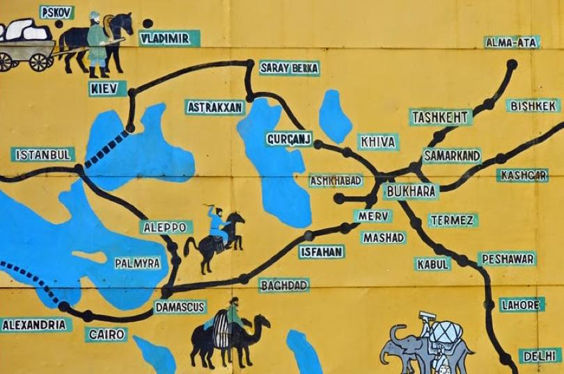 Image result for khiva map