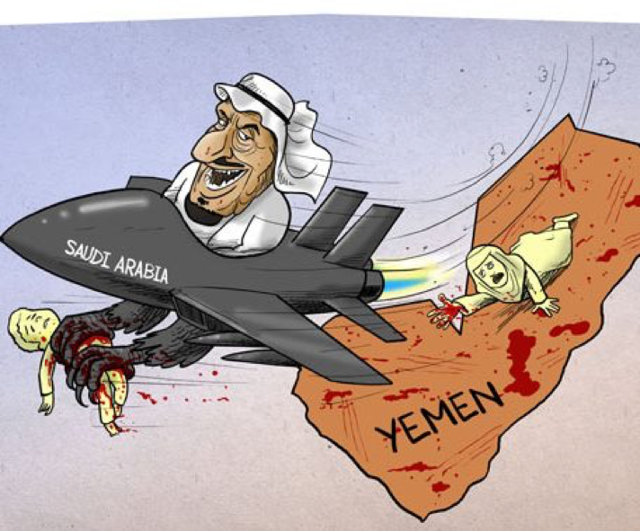 Image result for HOUTHI drones CARTOON
