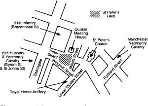 peterloo map